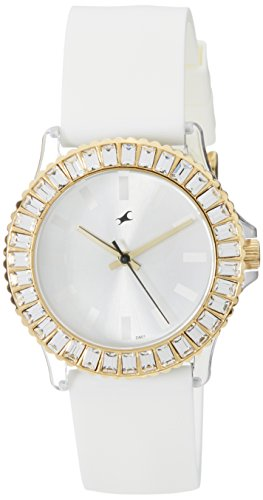 Fastrack Hip Hop Analog White Dial Women's Watch – NE9827PP01J