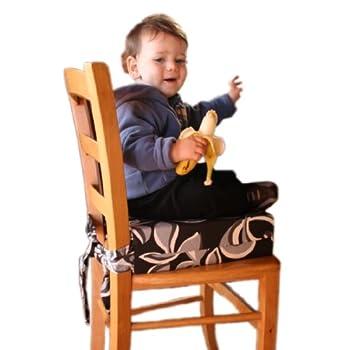 pas cher sitata chaise haute b b coussin r hausseur siege d 39 impression noir et blanc acheter. Black Bedroom Furniture Sets. Home Design Ideas