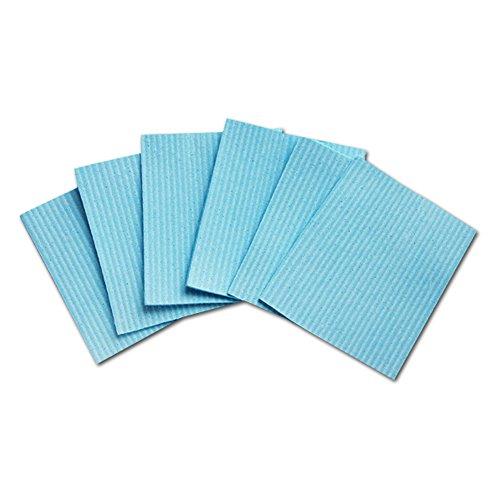 Super Saugfähig antibakteriell Reinigungs Schwamm Tücher-6Stück (blau)