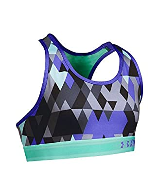 Under Armour Women's HeatGear Armour Printed Sports Bra