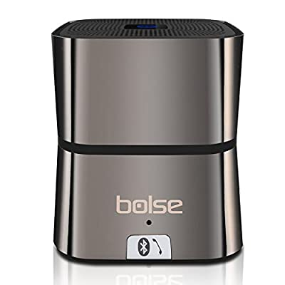 Bolse® 5W Portable Mini Bluetooth v4.0 Wireless Speaker (One Large 45MM 5W Driver), 10 Hour Playtime, Home Speakers, Wireless Cell Phone Car Speakerphones, Computer Speakers, For iPhone, iPad, Tablet, PC, Smartphones