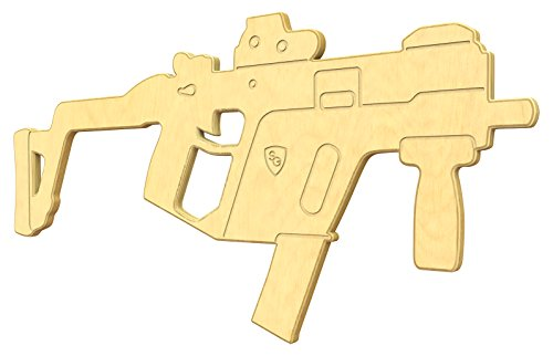 SturdiGuns Kids 45 SMG Wooden Toy Gun with Lifetime Guarantee, made in America, Extremely Durable (Kriss Super V compare prices)