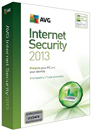 AVG Internet Security 2013 - 3 Users 1 Year