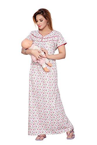 768b587b87883 SOULEMO WOMEN'S PREMIUM FEEDING NIGHTY, MATERNITY WEAR & PREGNANCY ...