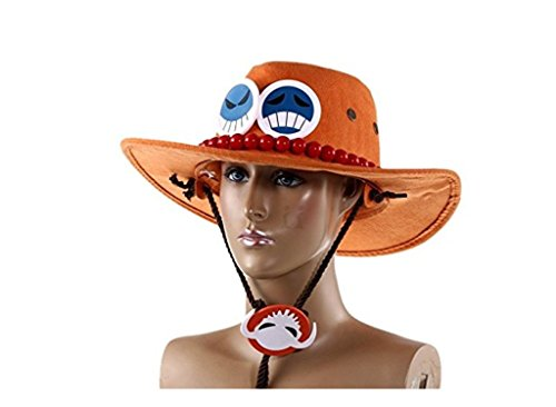 Cos-me One Piece Portgas D Ace Hat Cap Cosplay Coatume (Ace Hat compare prices)