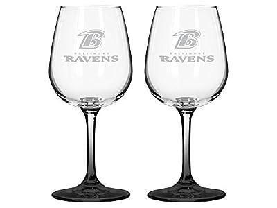 NFL Baltimore Ravens Boelter Wine Glass (2-Pack)