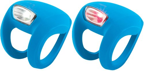 Knog Frog Strobe Twinpak - Headlight & Taillight combo Blue Bodies. BE SAFE - BE SEEN !