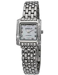 Juwelis Elevo JWS6005LBRC Wristwatch for Her With 42 genuine diamonds