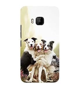 Fuson 3D Designer Back Case Cover For HTC One M9
