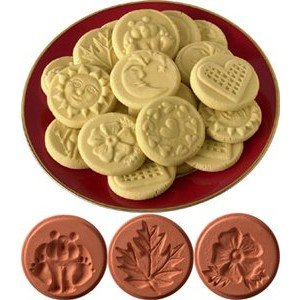 JBK Pottery JBK Pottery Cookie Stamp Set Nature