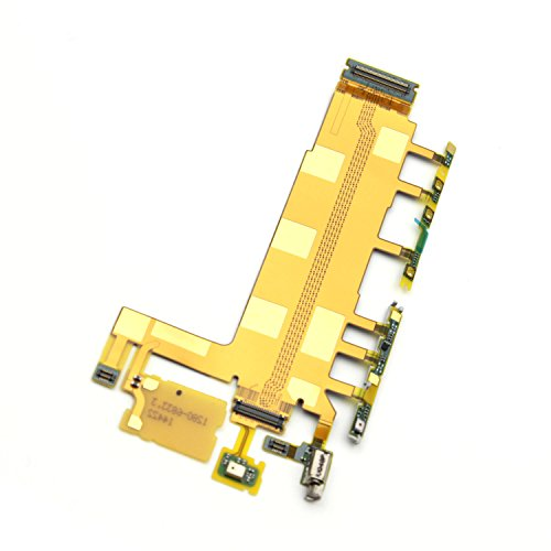 New Main Connector Mic Microphone Volume+Power Vibrator Motor Flex cable For Sony Xperia Z3 D6653 D6603 D6616