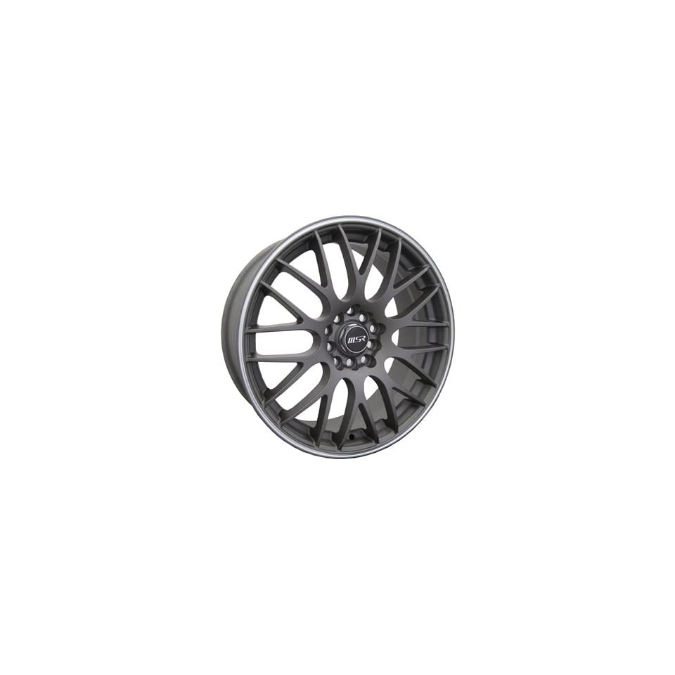 MSR 45 17 Silver Wheel / Rim 5x100 & 5x4.5 with a 42mm Offset and a 72.64 Hub Bore. Partnumber 4538737