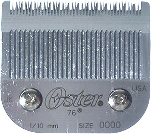 OSTER Cryogen-X Accessory Blade Set for Classic 76 Clipper Size 0000 (1/100 inch/0.25 mm) (Model: 76918-016)