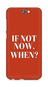 AMEZ if not now when Back Cover For HTC One A9