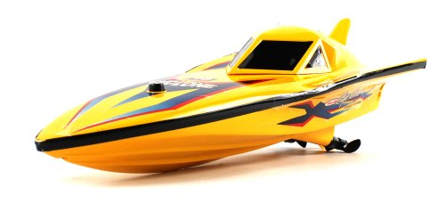 """Mini 12"""" Ep-777 Electric Rc Speed Boat Power Racing Ready To Run Rtr, Dual Motor & Propeller Propulsion System (Colors May Vary)"""