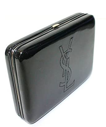BOXED Yves Saint Laurent YSL Ladies Glossy Patent Clutch Bag Purse ...