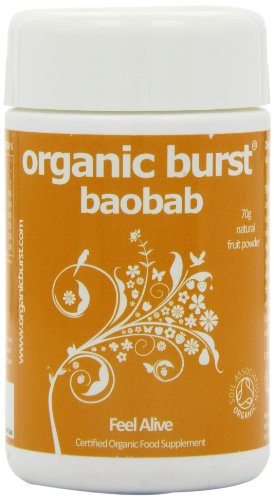 Organic Burst Baobab Powder 70G