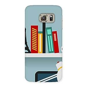Delighted Creative Desk Multicolor Back Case Cover for Samsung Galaxy S6 Edge Plus