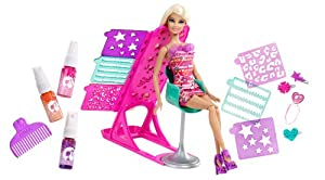 Barbie Hairtastic! Colour & Design Salon Doll