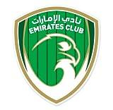 """Emirates Club - United Arab Emirates Football Soccer Futbol - Car Sticker - 5"""""""