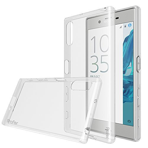Xperia XZ Case, Profer [Exact Fit] ANTI-Scratches [100% Clear] TPU Gel ULTRA SLIM FLEXIBLE SOFT Bumper Protective Case for Sony Xperia XZ (Clear)