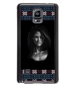 PrintVisa Metal Printed Girly Designer Back Case Cover for Samsung Galaxy Note 4 N910G -D4925