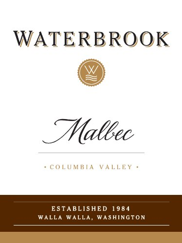2013 Waterbrook Malbec, Columbia Valley 750 Ml