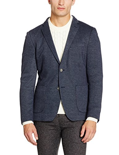 ESPRIT Collection 096EO2G044, Blazer Uomo, Blu (NAVY), 50