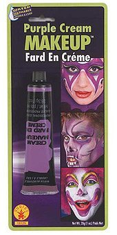 Rubie's Costume Purple Cream Make-Up 1 ounce