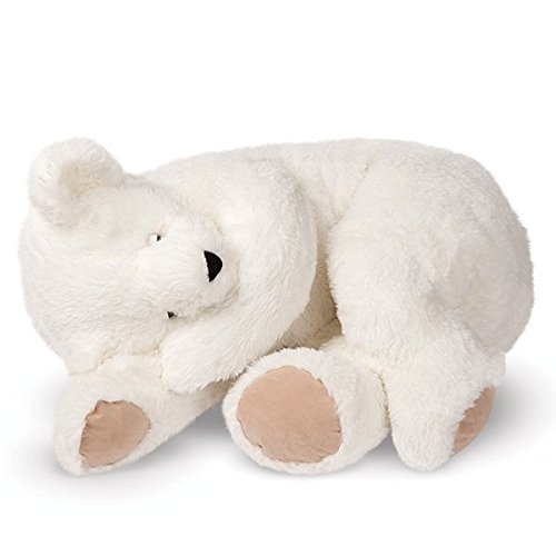 Vermont Teddy Bear - Giant Cuddle Buddy Bear, 3 Feet Long, White (Giant Teddy Bear 3 Feet compare prices)