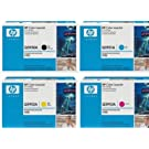 Genuine HP Q5950A, Q5951A, Q5952A, Q5953A, TONER SET BCYM LJ 4700 Sealed In Retail Packaging
