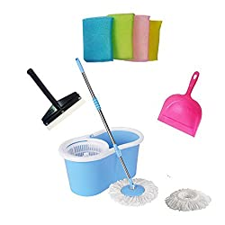Everything Imported TM Best Spin Mop & Bucket System (Blue)
