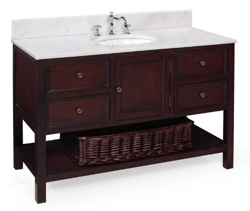 Buy yorker 48 inch bathroom vanity chocolate product for for Bathroom vanity tops for sale