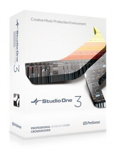 PreSonus プリソーナス 音楽制作ソフト Studio One 3 Professional Crossgrade 日本語版(Download edition)