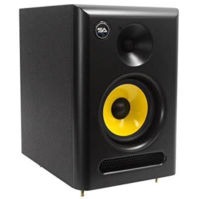 Seismic Audio Spectra-5P Active 2-Way 5-Inch Studio Reference Monitor - 55W RMS by Seismic Audio Speakers, Inc.
