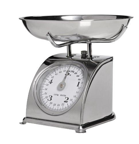 Trevi PR13200 Artemisia Balance de cuisine mécanique en acier inoxydable