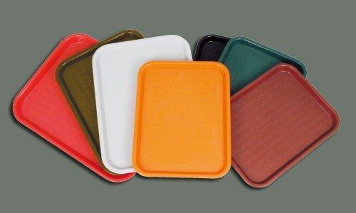 Winco FFT-1418K Fast Food Tray, 14-Inch by 18-Inch, Black