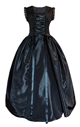 Victorian Valentine Steampunk Gothic Renaissance Civil War Dress