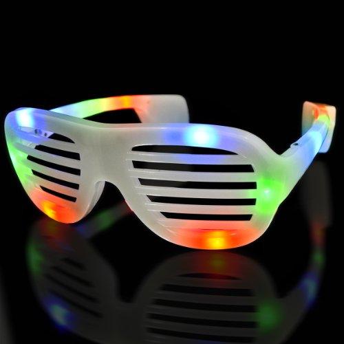 Multicolor Led Hip Hop Fashion Celebrity Sunglasses