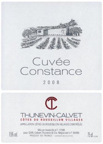2008 Thunevin-Calvet Cuvee Constance Languedoc-Roussillon 750 Ml
