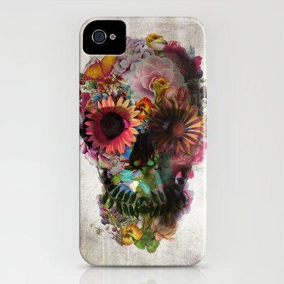 Society6/ソサエティシックス iphone4/4Sケース ドクロ スカル SKULL 2