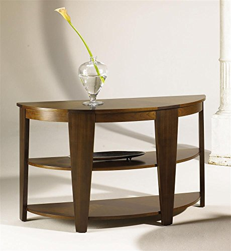 Fabulous Buy Hammary Oasis Demilune Sofa Table In Cherrywalnut Dailytribune Chair Design For Home Dailytribuneorg