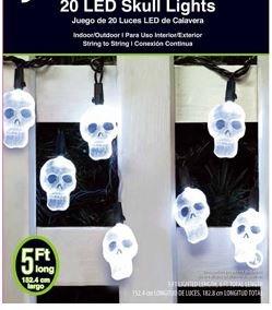 Fancy Skull Halloween Led Light Set