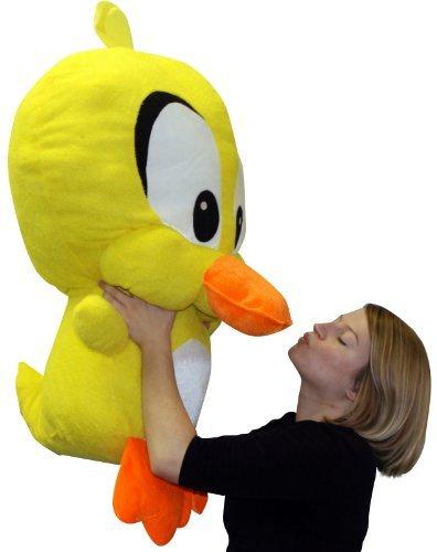 Giant Stuffed Yellow Duck