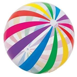"Intex - Jumbo Ball, Glossy Panels, with Variated Eye Catching Designs, 42"" from Intex"