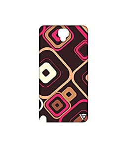 Vogueshell Box Pattern Printed Symmetry PRO Series Hard Back Case for Samsung Galaxy Note 3 Neo