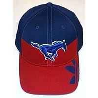 Southern Methodist Mustangs Flex Pro Shape Adidas Hat - Size L/XL - TS27Z
