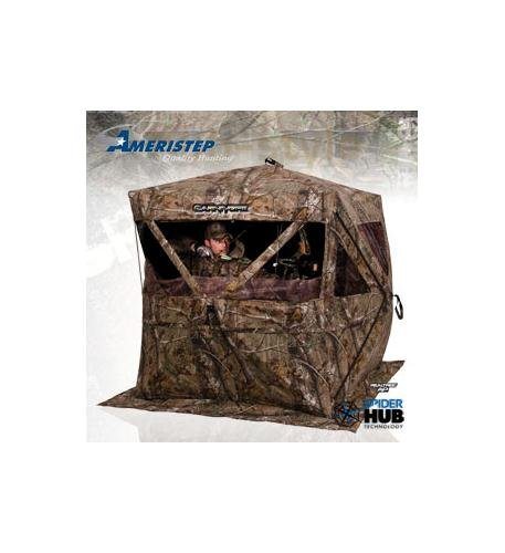 Teledynamics Wildgame Innovations Ameristep Poly Cotton Carnivore Blind front-1074901