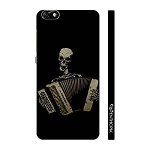 Enthopia Designer Hardshell Case Dead Man Playing Back Cover for Huawei Honor 4X