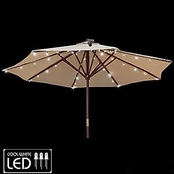 Gemmy Patio Umbrella Solar LED Lights